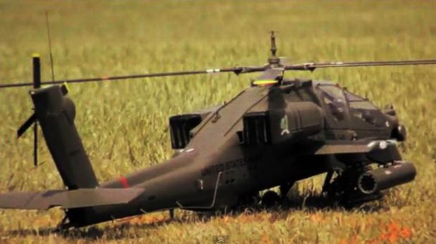 1/7 Scale Apache AH-64A