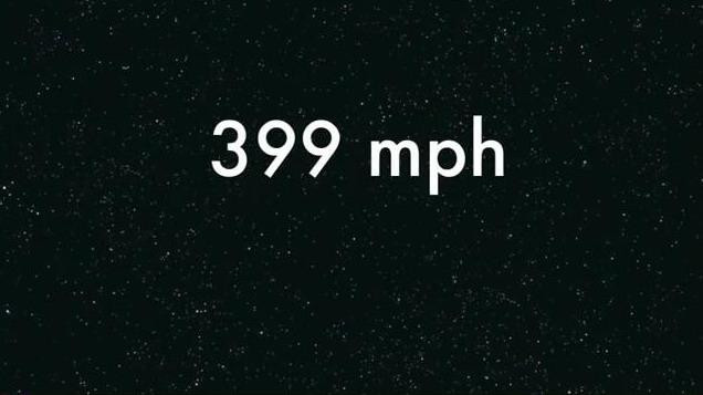 399 Mph !!!
